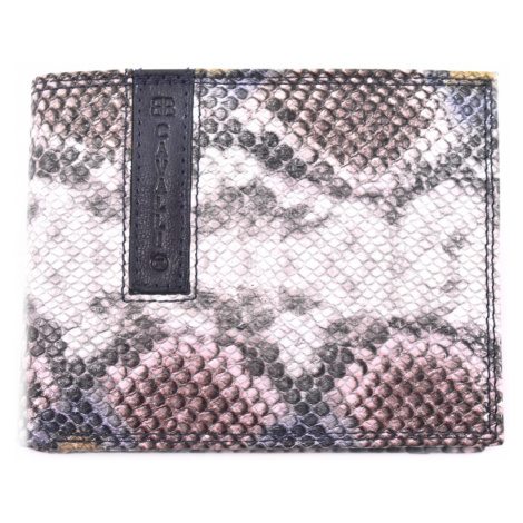 Pánská moderní kožená peněženka z pravé kůže B.Cavalli - béžová
