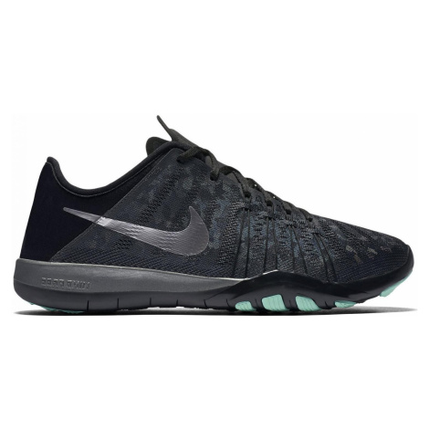 Dámské tréninkové boty Nike Free TR6 MTLC Černá / Zelená