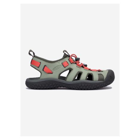 Solr Outdoor sandále Keen Zelená