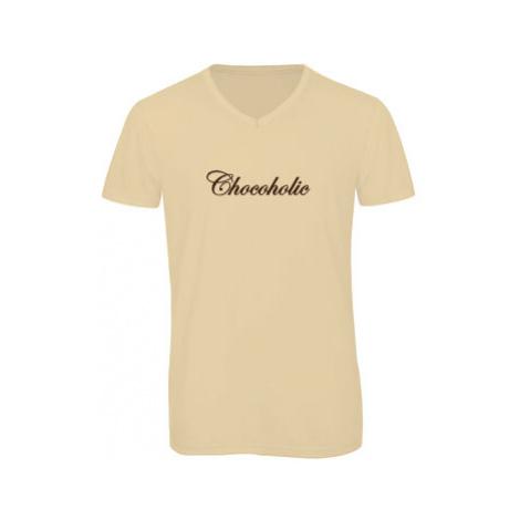 Pánské triko s výstřihem do V Chocoholic