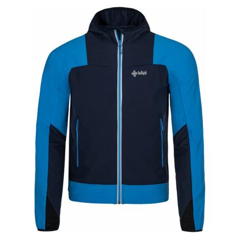 KILPI Pánská běžecká bunda JOSHUA-M MM0050KIDBL Tmavě modrá