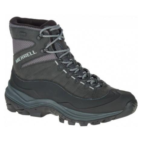 Merrell THERMO CHILL 6 SHELL WP šedá - Pánské zimní boty