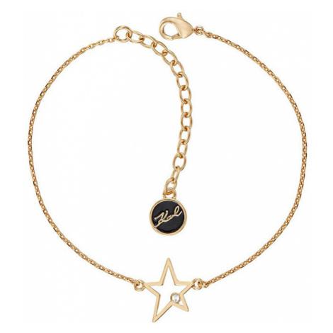 Karl Lagerfeld Pozlacený náramek s hvězdou 5545058