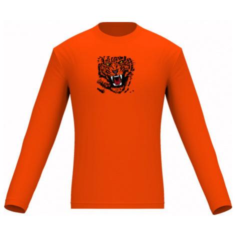 Pánské tričko dlouhý rukáv Tygr