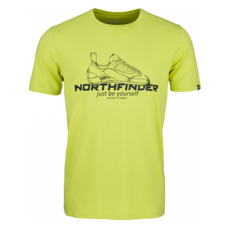 NORTHFINDER ALLAN Pánské triko TR-3540OR316 zelená