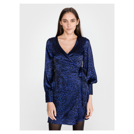 Dakota Šaty Vero Moda Modrá
