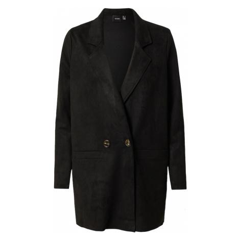 VERO MODA Přechodný kabát černá