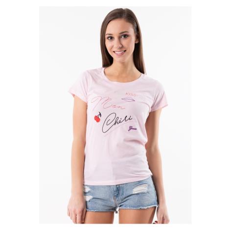 Dámské tričko Guess O92I00 Světle růžová