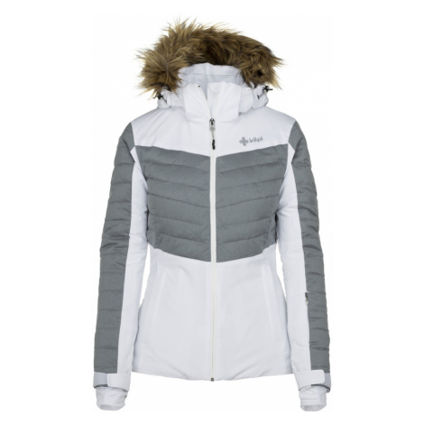 KILPI Dámská lyžařská bunda BREDA-W JL0112KIWHT Bílá