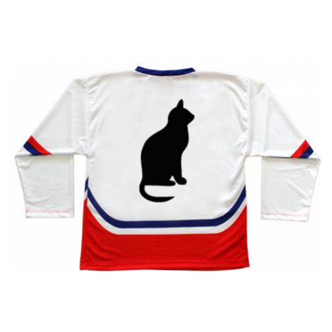 Hokejový dres ČR Kočka - Shean