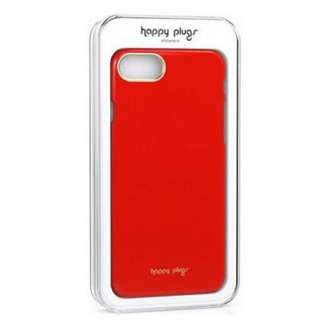 Ultratenký obal na iPhone – červený Happy Plugs