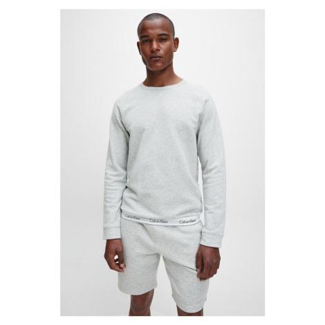 Calvin Klein Modern Cotton mikina pánská - šedá
