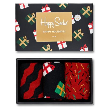 Dárkový box Happy Socks Xmas II - 3 páry