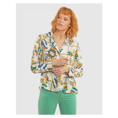 Košile La Martina Woman Shirt Flags Print - Různobarevná