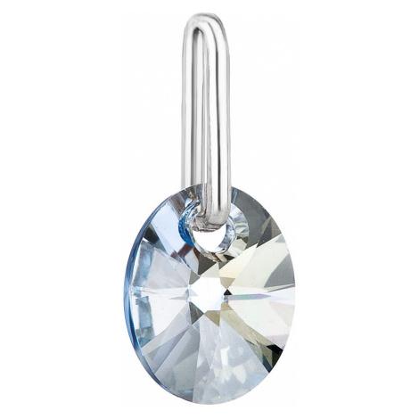 Evolution Group Přívěsek bižuterie se Swarovski krystaly modrý ovál 54039.5