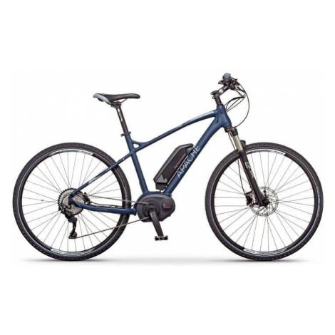 "Elektrokolo krosové Apache Matto Bosch Performance modrá, 21"" Apache Bicycles"