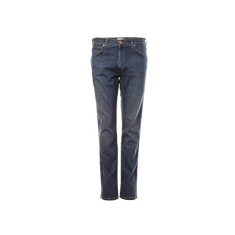 Wrangler jeans Greensboro Indigo pánské modré