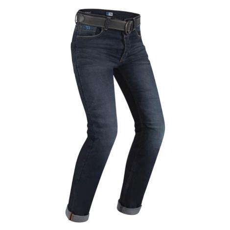 Pánské moto jeansy PMJ Legend Café Racer CE Barva modrá