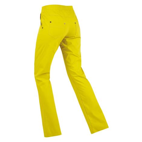 LITEX Kalhoty dámské dlouhé bokové. 99565104 žlutozelená