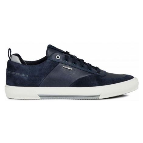 Geox U KAVEN tmavě modrá - Pánská volnočasová obuv