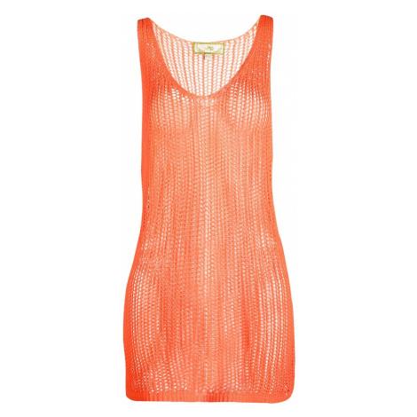 MYMO Plážové šaty oranžová