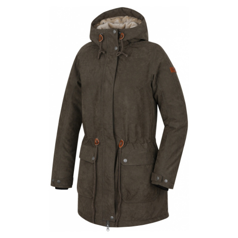 HANNAH Olowu Dámský kabát 217HH0047HJ01 Ivy green