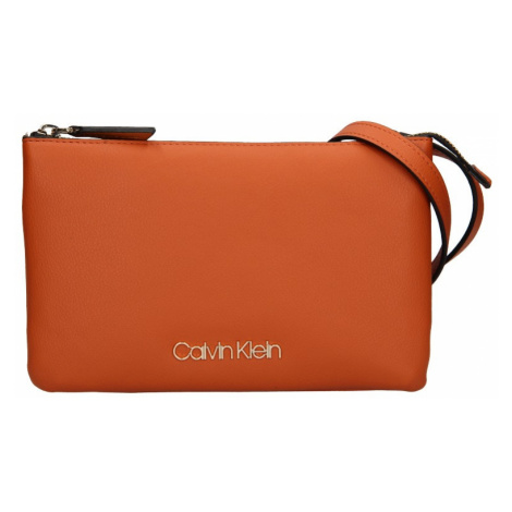 Dámská crossbody kabelka Calvin Klein Ruby - oranžová
