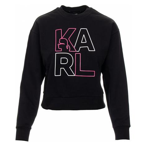 Karl Lagerfeld dámská mikina černá
