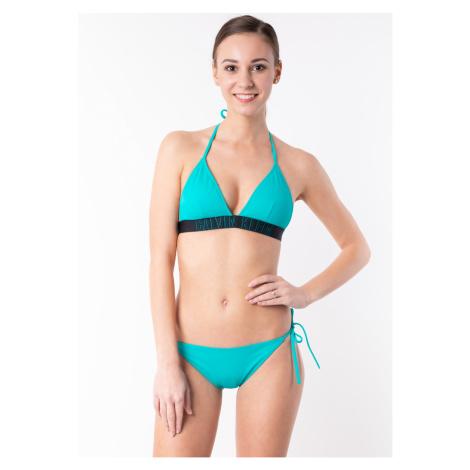 Dámské plavky Calvin Klein KW0KW00592+KW0KW00647 Zelená