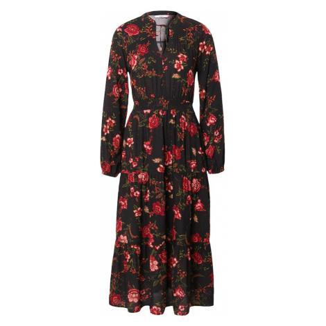 ONLY Košilové šaty 'NOVA' černá / červená / olivová / tmavě zelená / oranžová