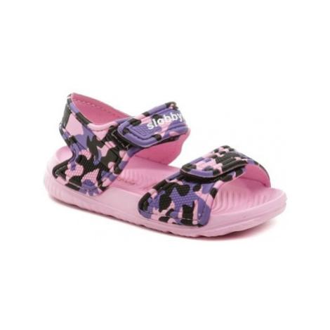 Cortina.be Slobby 191-0018-T1 růžové sandálky Růžová