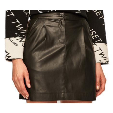 Černá sukně PATRIZIA PEPE