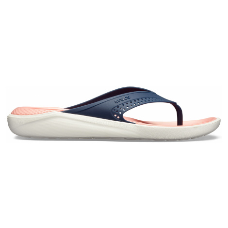 Crocs LiteRide Flip Navy/Melon