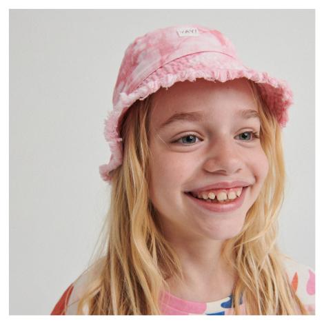 Reserved - Klobouk bucket hat - Růžová