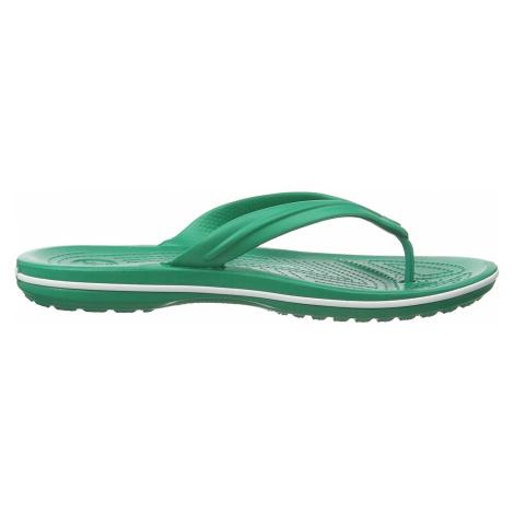 Crocs Crocband Flip Deep Green/White