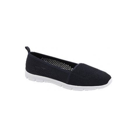 Tmavě modrá slip-on obuv Graceland