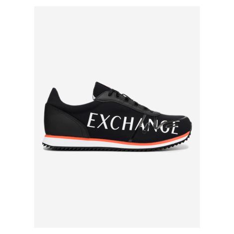 Tenisky Armani Exchange Černá