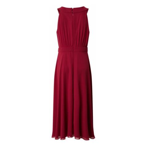 Vera Mont Šaty rubínově červená