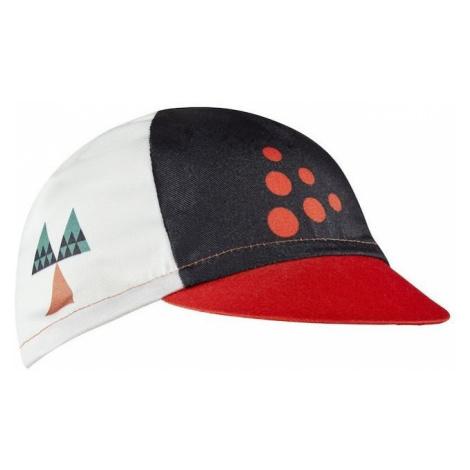 Kšiltovka Craft Hmc Offroad Barva: bílá/červená