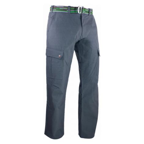Pánské kalhoty Warmpeace Galt grey - neukončená délka