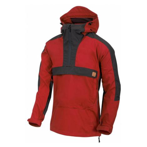Bunda Woodsman Anorak® Helikon-Tex® - dvoubarevná Crimson Sky / Ash Grey