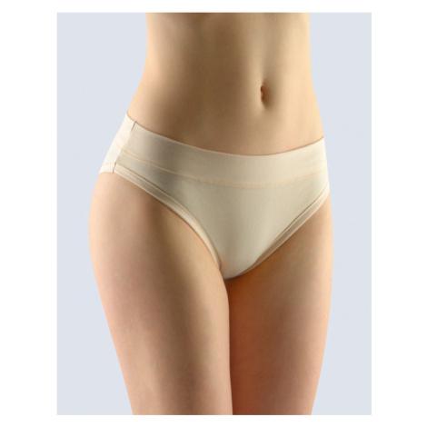 GINA Dámské kalhotky bokové se širokým bokem 16132-LBH tělová
