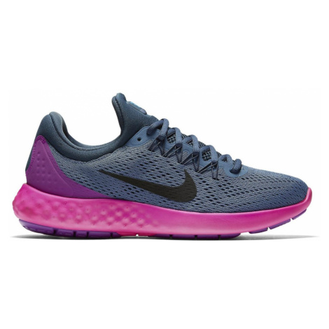 Dámské běžecké boty Nike Lunar Skyelux Modrá / Růžová