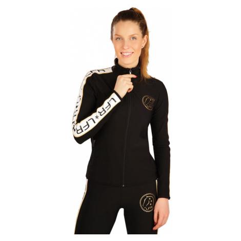 LITEX Mikina dámská na zip J1260901 černá