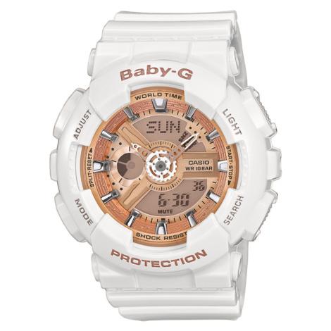 Casio Baby-G BA 110-7A1ER bílé / bronzové