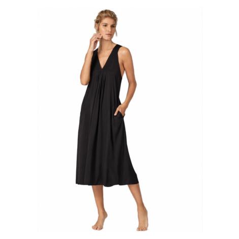 DKNY dlouhá košilka DI366999 černá - Černá