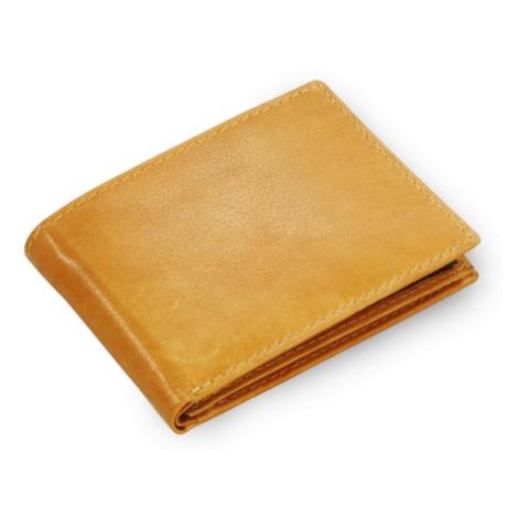 Světle hnědá pánská kožená peněženka Steven Arwel