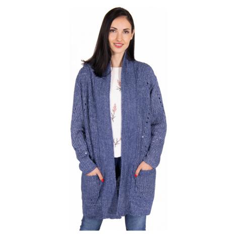 Pepe Jeans Pepe Jeans dámský modrý cardigan CRISTI