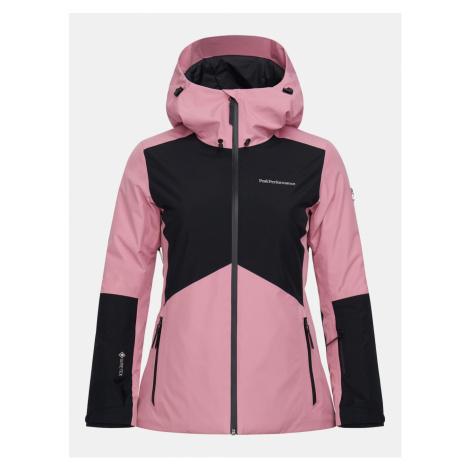Bunda Peak Performance W Anima Gtx Jacket - Růžová