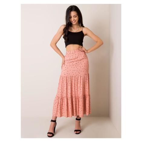RUE PARIS Dusty pink midi skirt Fashionhunters